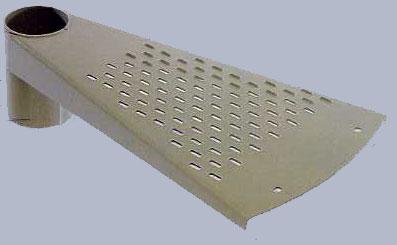 Escaleras de caracol y escalones for Escalera exterior de acero galvanizado precio